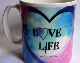 LOVE LIFE by evie angel Free P&P UK