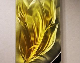 Wilmos Kovacs Metal Wall Art Sculpture, Home Decor, Wall Decor, Home Accents, Autumn Leeves Metal Wall Art - W316