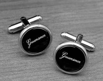 Groomsmen Cufflinks, Wedding cufflinks, groomsmen cuff links, mens cufflinks, silver cufflinks, mens cuff links, bridal party cuff links