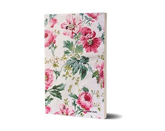 Journal Daily, Pretty Pink Flowers , Lined Journal, 47A1523618361