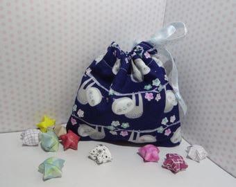 Sloth Origami Star Bag