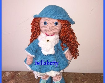 tutorials / pattern doll linsey in the Netherlands