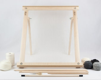 Weaving Loom with Stand Kit Grey