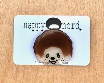 Kawaii monkey pin