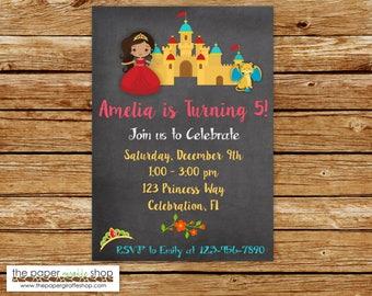Princess Elena Invitation   Princess Elena of Avalor Birthday Party   Princess Invitation   Princess Party   Princess Elena Party