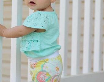 Pastel Floral Baby + Toddler Shorites