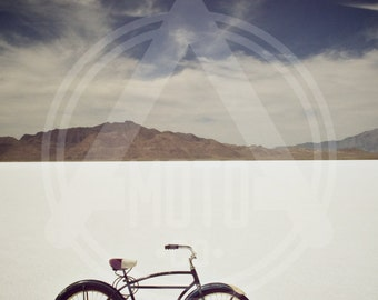 Photo - Bonneville Salt Flats Schwinn