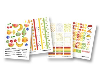 Juicy Frootz Planner Stickers Bundle