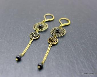 Earrings art deco earrings, Eva