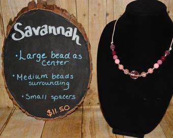 Savannah Necklace Collection