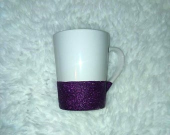 Glitter Mug Glittered Mug Bridal Shower Gift Wedding Gift Custom Coffee Mug Birthday Gift Personalized Gift Glitter Dipped Coffee Mug