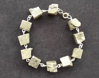 Pyrite Nuggets Bracelet