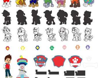 Paw Patrol for Silhouette Studio