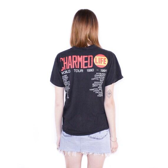 Shirt Idol Billy Charmed 1990 Life Tour T ZYRq8U