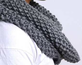 Infinity Scarf | Knitted Cowl | Hand knitted Scarf |The Faith infinity scarf | READY TO SHIP