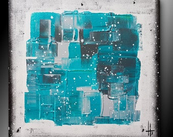 abstract painting square