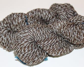 Handspun Yarn, DK Weight, Merino Wool