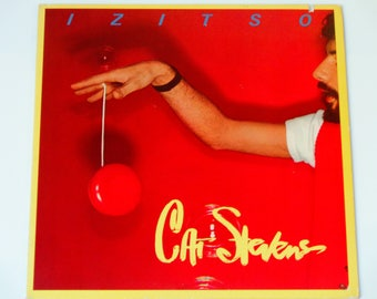 "Cat Stevens - Izitso - ""Old Schoolyard"" - Synthpop - Electronic Rock - Folk Rock - A&M Records 1977 - Vintage Gatefold VInyl LP Record Album"