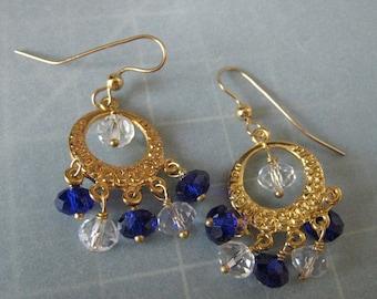 Crystal Clear Gitana Earrings