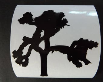 Joshua Tree Vinyl Decal Car Sticker Laptop Decal U2 Logo Joshua Tree Tour (#57)