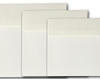 NATURAL 5 inch SQUARE Envelopes 50 pk