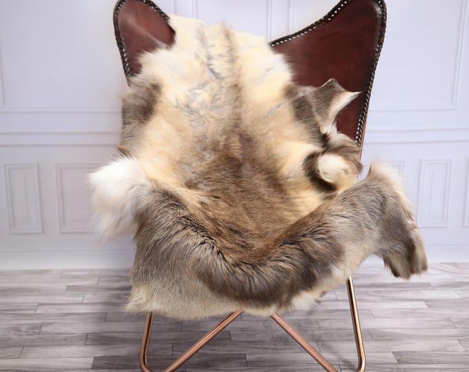 Reindeer Hide | Reindeer Rug | Reindeer Skin | Throw XL Ekstra  Large - Scandinavian Style #20RE12