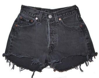 Ebony High Waist Shorts