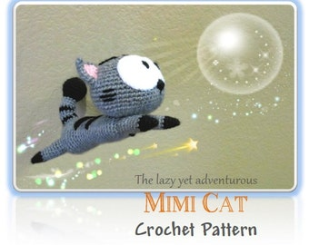 Mimi Cat (PDF Pattern)