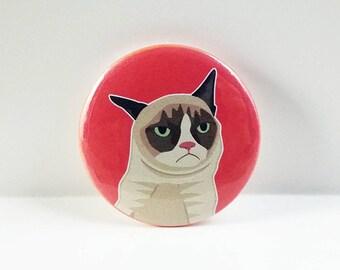 "Grumpy Cat - 1.25"" Pinback Button"