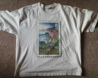 VINTAGE Postage T Shirt