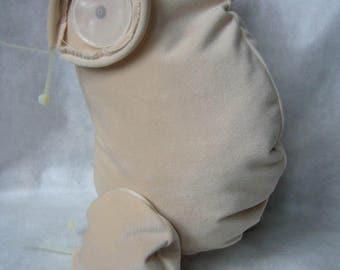 Reborn doll body 1/1, 3/4 for 20'' doll kits