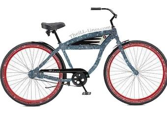 Custom  Bike Made With Genuine Swarovski Elements  Price Negotiable