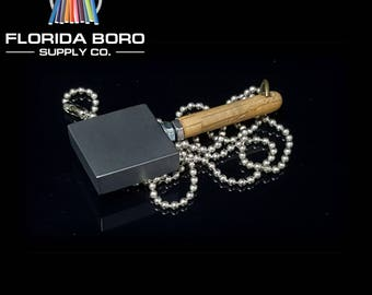 Fire Bug Tools Graphite Paddle Pendant