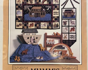 Noah and Friends Quilt Pattern by Mumm's the Word (1991)