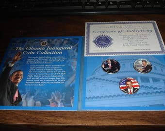The Obama Inaugural Coin Collection Limited Edition 44th President