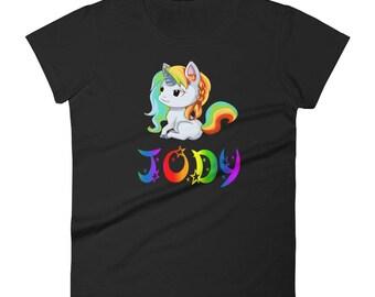Jody Unicorn Ladies T-Shirt