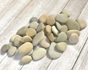Wedding stones - Blessing stones - Wedding Favor stones - River rocks bulk - Colorful stones - Alaska River rocks - Memorial stones - Smooth