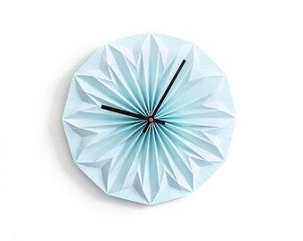 NEW: origami wall clock DIY kit