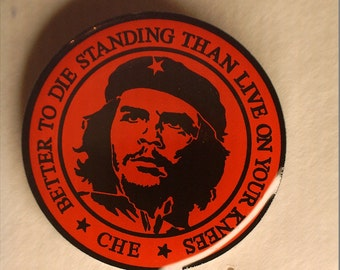 Che Guevara Quote Pin