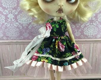 Blythe Dress - Black Floral
