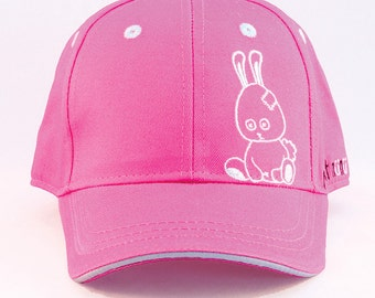 nunu_bunny - Baseball cap girl or boy / toddler or kid up to 5 years / hats available in two sizes