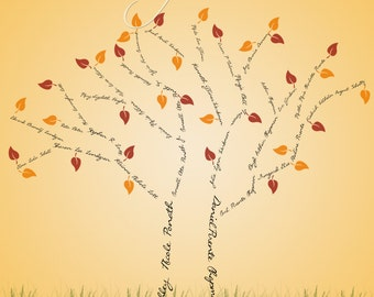 Family Tree Digital Template