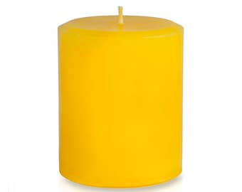 Fireside Candle Pillar for Fall and Holidays, 14 oz  - 397 grams