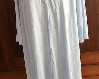 S / Vanity Fair/  Nightgown / Blue / Vintage / Small