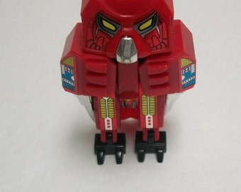 Transformers 1984 Hoot The Owl Red Avatars Transformer By Select   Transforming Robot - Made In Japan