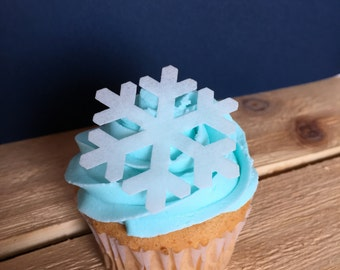 how to make edible snowflakes for cupcakes