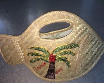 Cayman Silver Thatch Fish Handbag