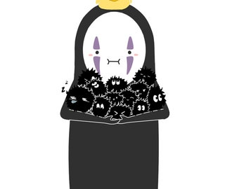 No Face Chibi (Spirited Away)