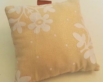 Handmade Pillow with Custom Quote