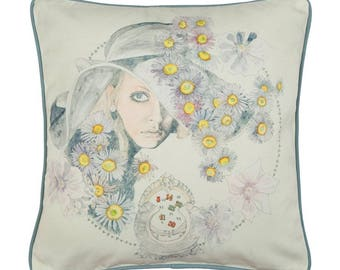Virgo Zodiac Cushion